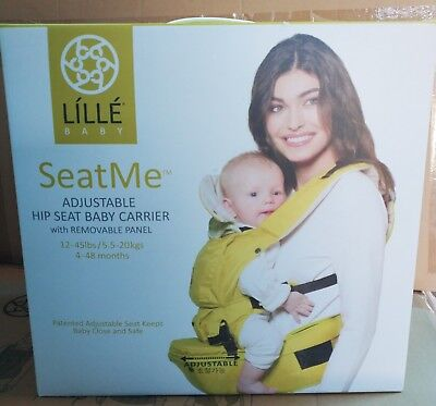 LILLE baby SeatMe Hip Seat Baby Carrier - Citrus NEW