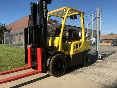 2012 Hyster H60FT Pneumatic LP Forklift - We Will Ship!
