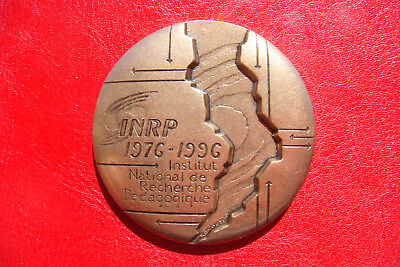 RARE FRANCE 1996 BRONZE Medal of the National Institute for Pedagogical Research