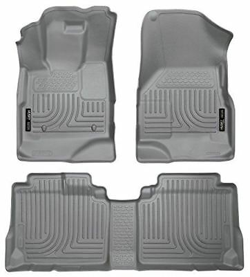 Husky Liners Custom Fit Front and Second Seat Floor Liner Set for Select Chevrol