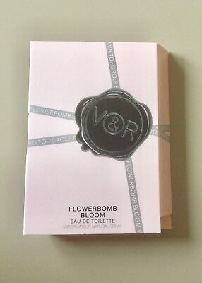 ❤️ Viktor & Rolf - Flowerbomb Bloom EDT ❤️ Probe * Parfümprobe for women  NEU