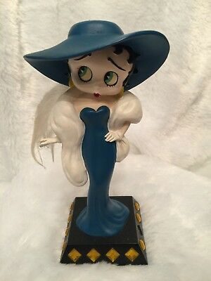 The Danbury Mint Betty Boop Glamour Girl Collector Figurine Resin Height 7""