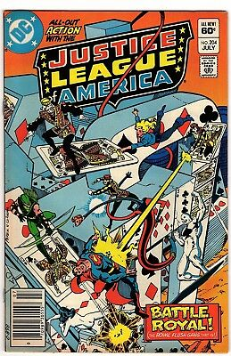 Justice League America #204/Gerry Conway/Romeo Tanghal/1960 DC Comics