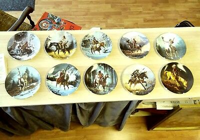 The Hamilton Collection Native American Plate Collection