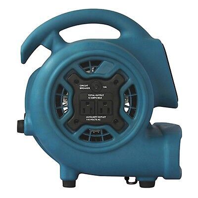 XPOWER P-230AT 800cfm 3-Speed Mini Air Mover/Floor Dryer/Utility Blower Fan with