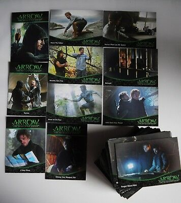 Marvel Arrow Season 1 Full 95 Card Premium  Base Set