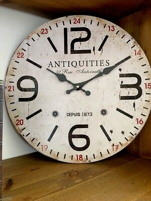 Antique Style Wall mounted Novelty Clock Time Keeping Kitchen Decorative