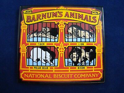 Barnum's Animals  National Biscuit Company - Magnet