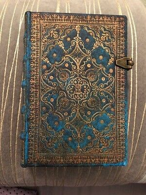 """Paperblanks Mini Azure Lined Journal 5.5"""" x 3.75"""" New without Tags"""