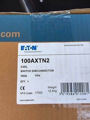 Eaton Mem 100axtn2 100a Tpn Switch Disconnector