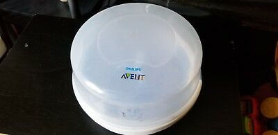 NEW Philips AVENT Express II Microwave Steam STERILIZER Baby Bottle