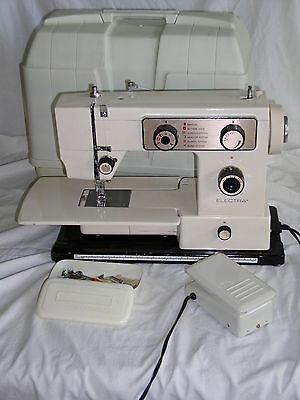 Vintage Electra 500FA Sewing Machine in Carrying Case