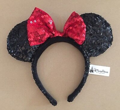 Minnie Mouse Sequinced Ears