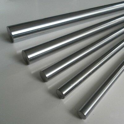 OD 10mm Harden Process CNC Linear Rail Cylinder Shaft Optical Axis Smooth Rod x3