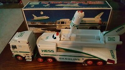 1999 Hess Toy Truck & Space Shuttle/satellite Real Head And Tail Lights