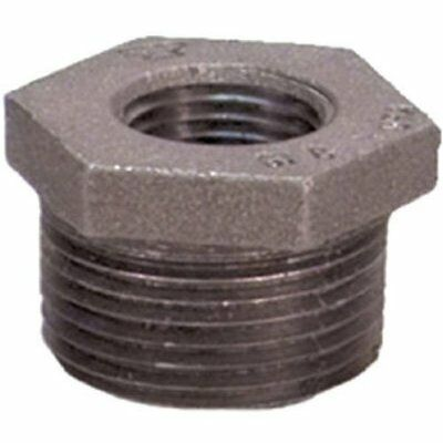 "Anvil 8700129508, Malleable Iron Hex Bushing, 1-1/4"" NPT Male x 1"""