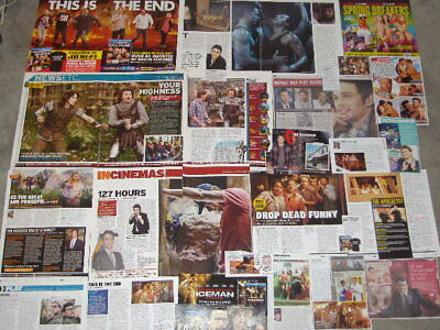 JAMES FRANCO - Over 30 clippings