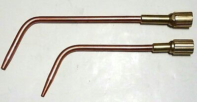 AIRCO CONCOA Style 80 No. 6 & 9 Welding Brazing Torch Tips Heavy Duty