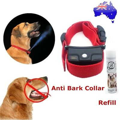 Automatic Citronella Anti Bark Spray Collar Stop Dog Training Collar No Barking