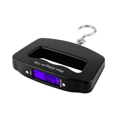 50kg/10g Handheld LCD Digital Scale Electronic Fish Hanging Hook Luggage Scale