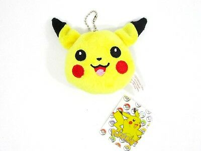 Pokemon Pikachu Keychain Zipper Pull Stress Ball Bag Charm NEW GameFreak