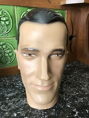 1930's Male Mannequin Head
