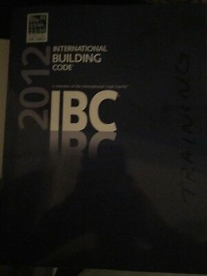 2012 IBC ICC Code Book Physical Copy Softcover