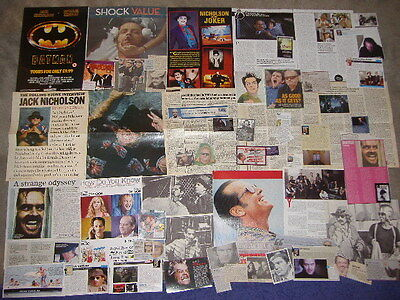 JACK NICHOLSON - Over 40 clippings