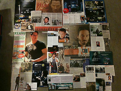 KEANU REEVES - Over 30 clippings