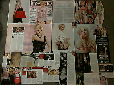 MICHELLE WILLIAMS - Over 20 clippings