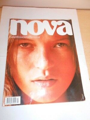 Nova Magazine, Kate Moss Gets Personal