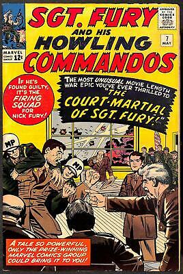 Sgt. Fury and His Howling Commandos #7 FN