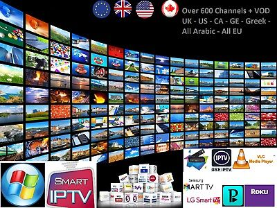 VIP IPTV SUBSCRIPTION  6500 + LiveTV + VOD + PPV IPTV STABLE SERVICE M3u MAG TV