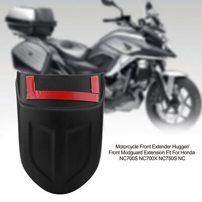 Black Motorcycle Front Fender Mudguard for Honda NC700S NC700X NC750S NC750X BT
