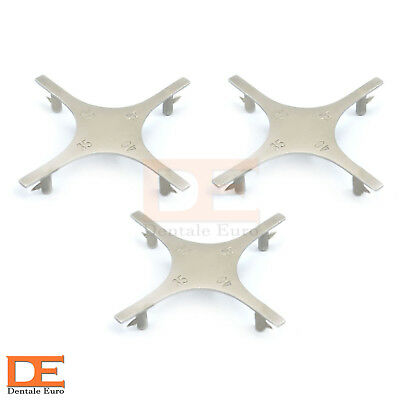 Star Like Bracket Positioning Gauge Orthodontic Instruments Supplies CE Set Of 3