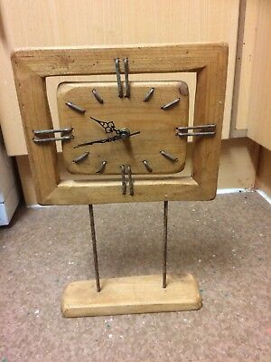 Clock  antique,hand made for Repair