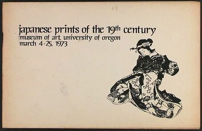 19th Century Antique Japanese Prints -the Warner Collection 1973 Catalog