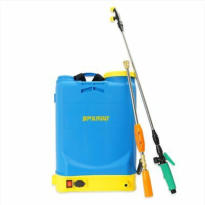 Spargo 16 Litres Pressure Cordless Battery Rechargeable Weed Sprayer Knapsack