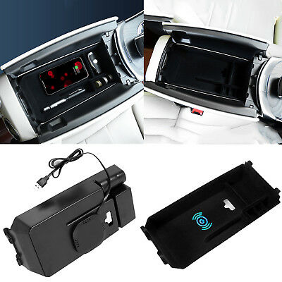 For Mercedes Benz New C GLC Class Storage Box Case Armrest Center Console Tray