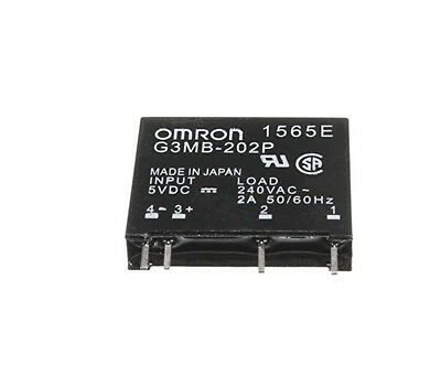 G3MB-202P-5VDC DC-AC PCB SSR In 5V DC Out 240V AC 2A Solid State Relay SE