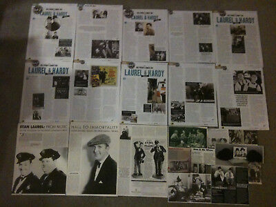 STAN LAUREL & OLIVER HARDY - Over 20 clippings