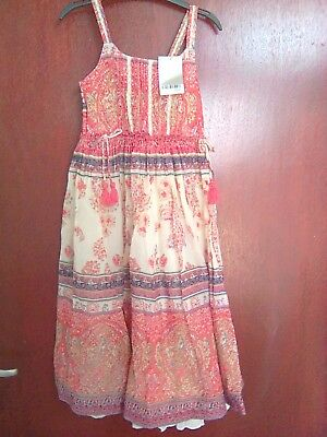 Bnwt Next girls age 5 years stunning summer maxi dress rpp £22, holidays party