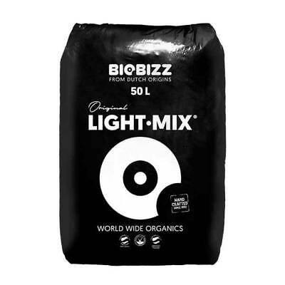 BioBizz Light Mix 50 Lt Terra-Terriccio Fertilizzato Sterilizzato pH Stabile 6,2