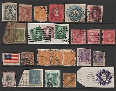 Usa - Excellent Mix - Valuable Lot - Check Postmarks Carefully.