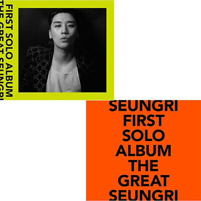 SEUNGRI [THE GREAT SEUNGRI] FIRST SOLO ALBUM 2CD+POSTER+PBook+Lyrics+3p Card+etc