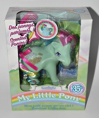 My little Pony Sunlight 35th Anniversary Mein kleines G1 Retro Vintage OVP NRFB