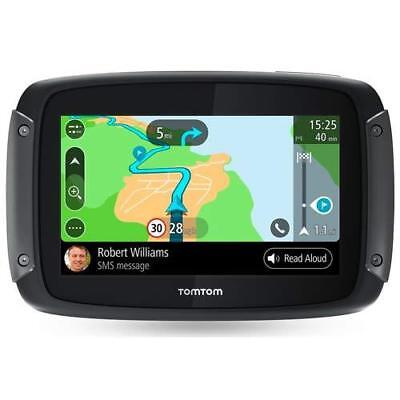 TomTom Rider 500 Motorcycle Bike Sat Nav UK & Europe Lifetime Maps Traffic