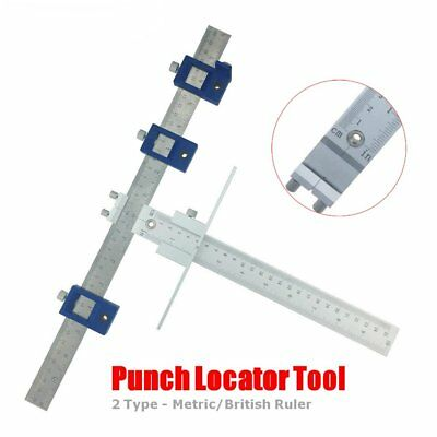 Dowelli Punch Locator Drill Guide Sleeve Cabinet Hardware Jig Drawer Pull Wood