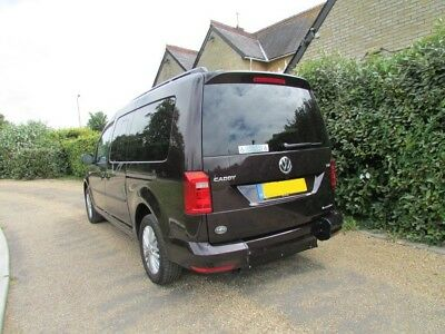 VW Caddy Maxi Life 7 seater, 102ps TDI manual WAV wheelchair accessible vehicle