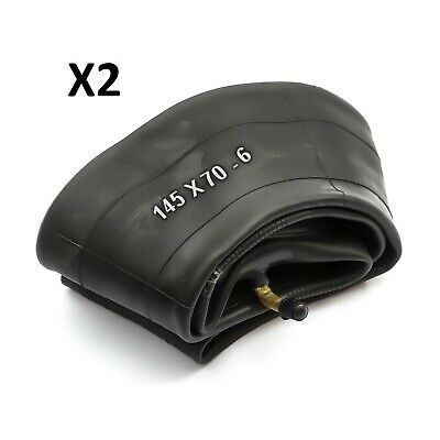2 Innertube 145x70-6 145x7.00-6 6'' 6 Inch Bent Valve Countax Westwood Lawnmower